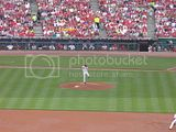 homer bailey's first major league game